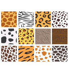 Animal fur texture nature abstract wildlife vector
