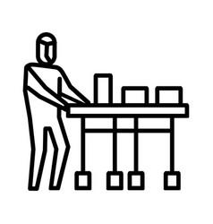 Deliver medicines icon symbol activity vector