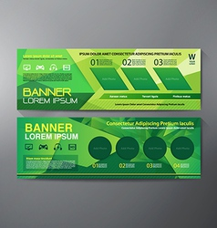 Modern Banner Business Design Template Background vector image