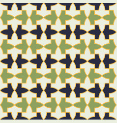 pattern from alhambra palace vector image