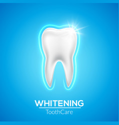 tooth care dental icon healthy dentist vector image