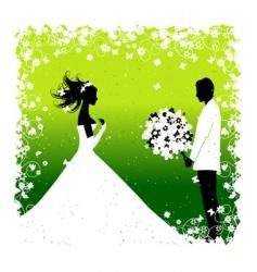 Wedding bride vector