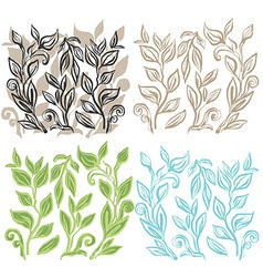 LeafArtDesign vector image vector image