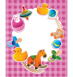 children toys vector image vector image