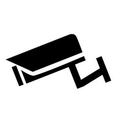 Surveillance camera icon vector