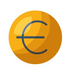 Euro money symbol vector