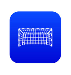 goal post icon digital blue vector image