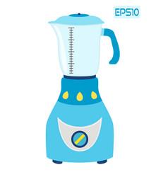 Kitchen blender mixer machine to make drinks vector