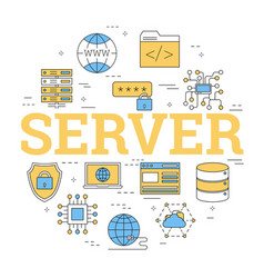 Linear concept of server storage vector