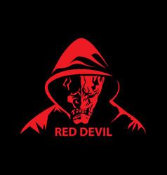 red devil vector image
