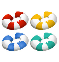 Set inflatable ring vector