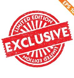 Stamp sticker limited collection - - EPS10 vector image