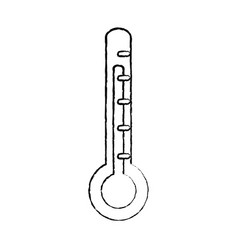 thermometer medical equipment healthcare icon vector image