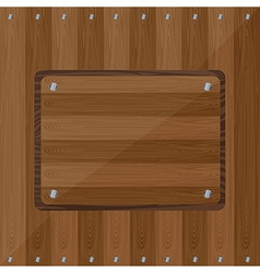 Wood planks vector