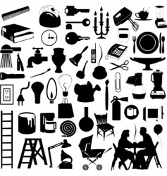 house subjects vector image vector image