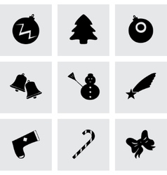 cristmas icons set vector image