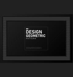 abstract design artwork black geometric vector image