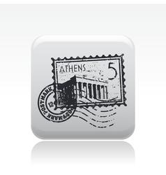 Athens icon vector