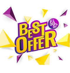 Best offer 3d text vector