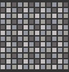 Modern mosaic background seamless pattern vector