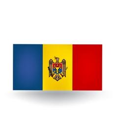 Moldova Flag vector