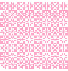 pink geometric pattern seamless vector image