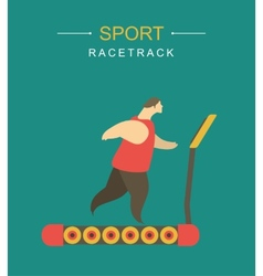 Racetrack vector