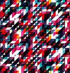 retro red pixel seamless texture vector image