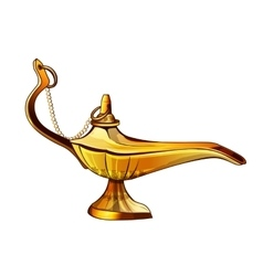 Aladdins Lamp vector image