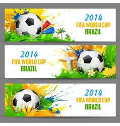 FIFA World Cup banner vector image vector image