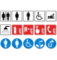 pictogram sign vector image vector image