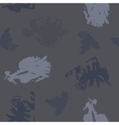 Blots in Grey Shades on Dark Grey Background vector