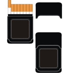 cigarette case vector image