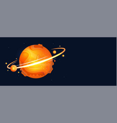 Colorful mars vector