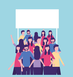 Community people activity vector