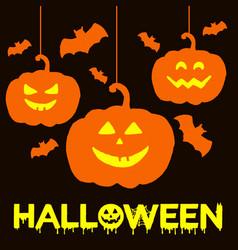 Halloween watercolor background vector