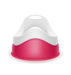 pink children potty stock vector image