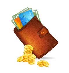 purse vector image