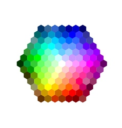 mixing color vector image vector image
