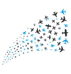 Airplanes source stream vector