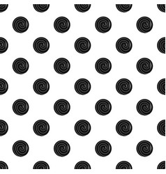 gustard bakery pattern seamless vector image