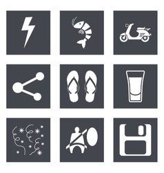Icons for Web Design set 27 vector