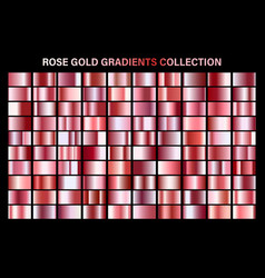Rose gold glossy gradient metal foil texture vector