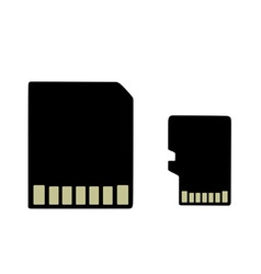 Sd card vector