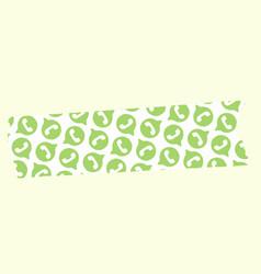 Whatsapp logo washi tape free vector