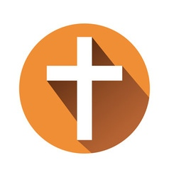 sign of the cross vector image