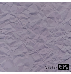 abstract gray background crumpled old paper vector image