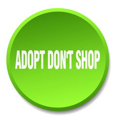 Adopt dont shop vector
