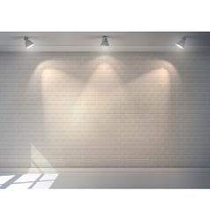 Brick Wall Realistic vector image