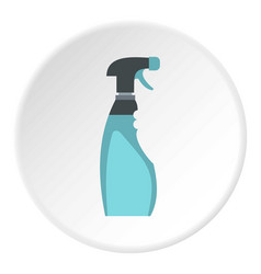 Cleaner for windows icon circle vector